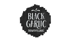 BLACK GARLIC Logo